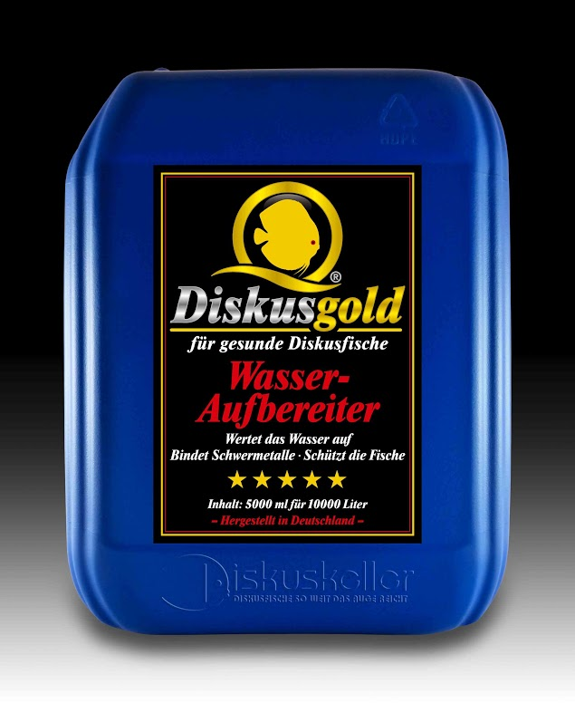 diskusfische diskusgold wasseraufbereiter 5000 ml. Black Bedroom Furniture Sets. Home Design Ideas