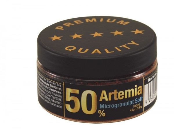 50% Artemia Microgranulat Soft 45g von Discusfood