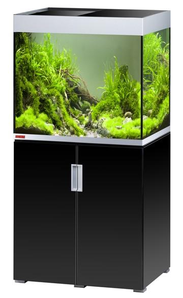 EHEIM Incpiria 200 - schwarz silber - Süßwasser Aquarien-Kombination