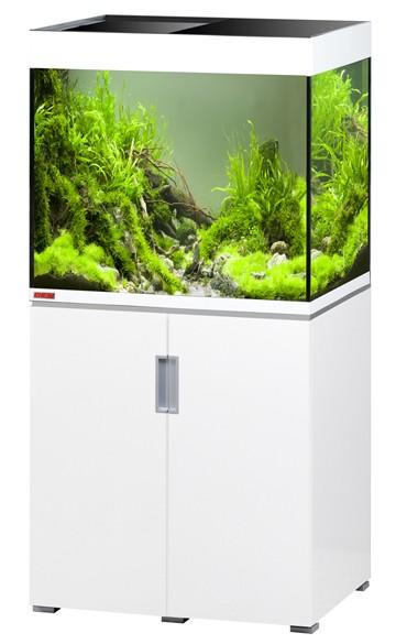 EHEIM Incpiria 200 - weiß hochglanz - Süßwasser Aquarien-Kombination