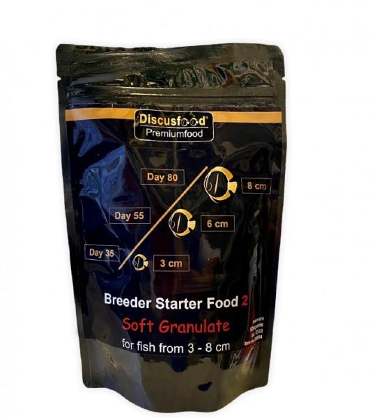 Breeder Starter Food 2 500g Softgranulat von Discusfood zur Aufzucht von Jungfischen