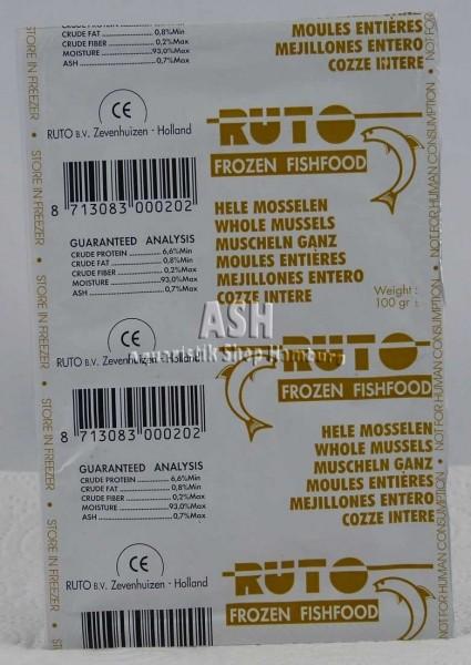 RUTO's Muschelfleisch (ganz)100g Blister