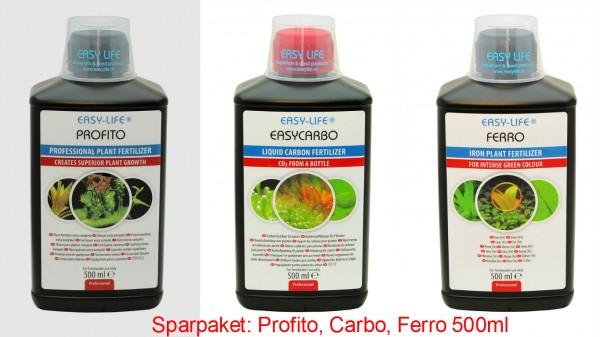 Easy Life Ferro, Pro Fito & Carbo - 3x500ml