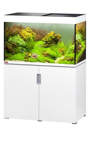 EHEIM Incpiria 300 - weiß hochglanz - Süßwasser Aquarien-Kombination