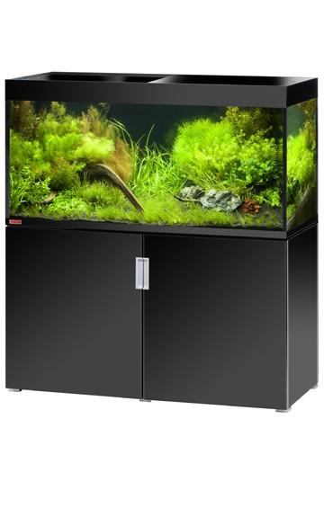 EHEIM Incpiria 400 - schwarz hochglanz - Süßwasser Aquarien-Kombination