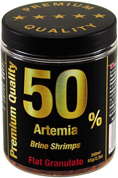 Artemia 50% Flat Granulate von Discusfood