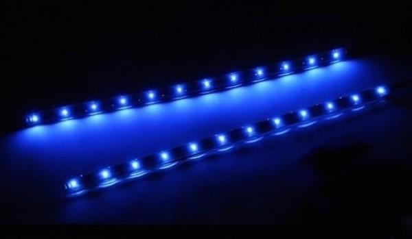 Mondlicht fürs Aquarium 2 x 30 cm lange LED-Leisten