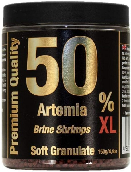 Artemia 50% / Brine Shrimps XL - Softgranulat 150g von Discusfood