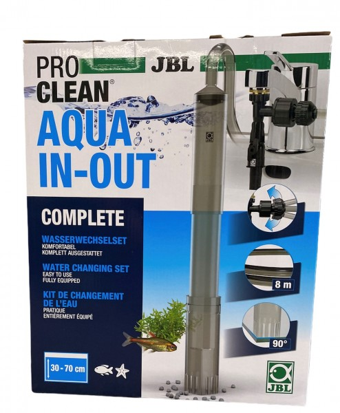 JBL Wasserwechselset Aqua In Out - Wasserwechsel leicht gemacht