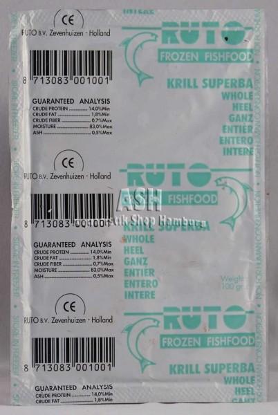 RUTO's Krill Superba (ganz) 100g Blister