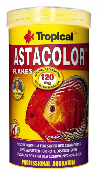Tropical Astacolor Farbfutter Flocke