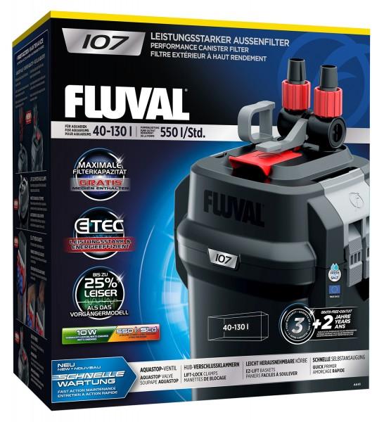 Fluval 107 Außenfilter für 40-130 Liter
