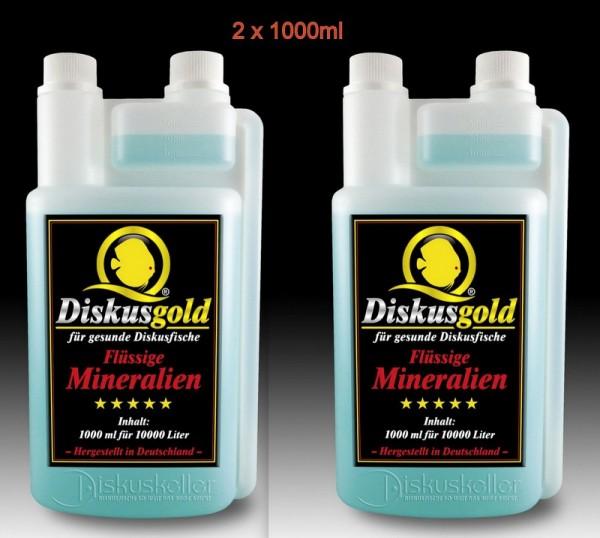 Diskusgold Flüssige Mineralien 2 x 1000 ml Sparpaket
