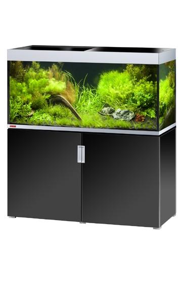 EHEIM Incpiria 400 - schwarz / silber - Süßwasser Aquarien-Kombination