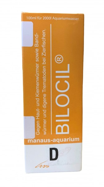 BILOCIL® D von Manaus-Aquarium-Production 100ml Medikament gegen Kiemenwürmer