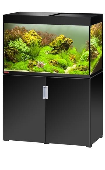 EHEIM Incpiria 300 - schwarz hochglanz - Süßwasser Aquarien-Kombination