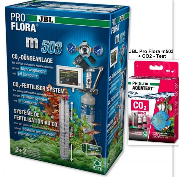 JBL ProFlora m503, CO2 Set Pflanzendüngeanlage mit pH-Steuerung + Gratis Test
