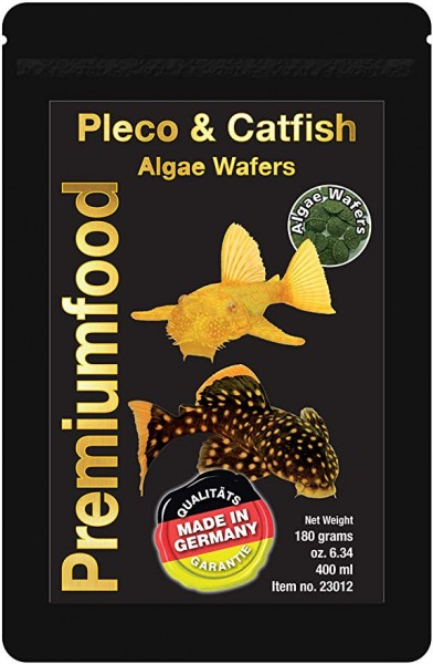 Pleco & Catfish Algae Wafers 50g Discusfood - Futtertabletten - Wels Chips für Welse
