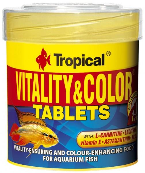 Vitality & Color Tablets 50 ml