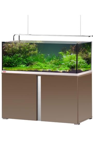 EHEIM Proxima plus 325 - mokka braun / edelglanz - Süßwasser Aquarien-Kombination