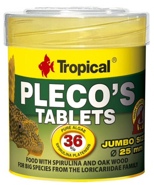 Tropical Pleco's Tablets