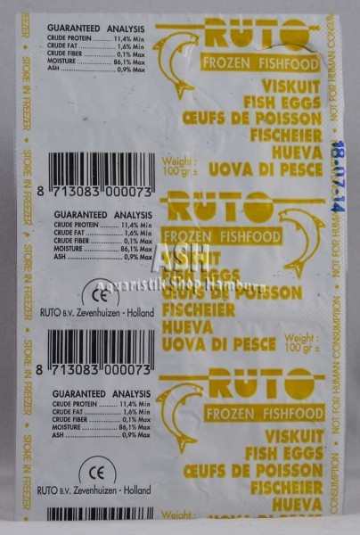RUTO's Fischeier / Fish Eggs 100g Blister