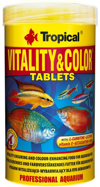 Vitality & Color Tablets 250 ml
