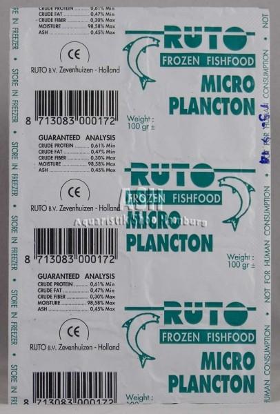 RUTO's Plankton grün (Micro) Blister-Verpackung 100g