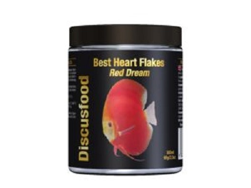 Best Heart Flakes Red Dream 300ml von Discusfood