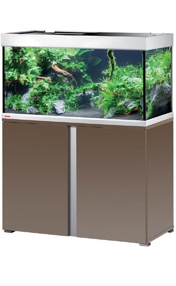 EHEIM Proxima 250 - mokka braun / edelglanz - Süßwasser Aquarien-Kombination