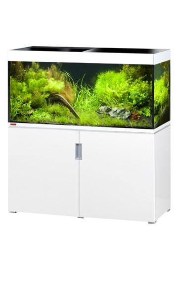 EHEIM Incpiria 400 - weiß hochglanz - Süßwasser Aquarien-Kombination