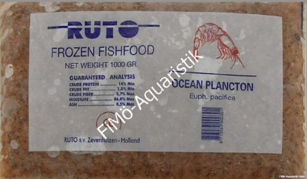 Krill fein/ Ocean Plankton 1kg Flatpack (Flachtafel)