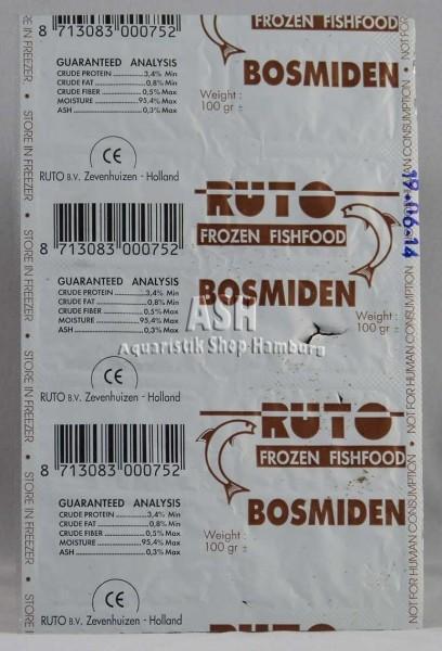 RUTO's Bosmiden / Rüsselflohkrebs 100g Blister