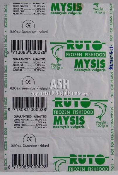 RUTO's Mysis (Schwebegarnelen) 100g Blister