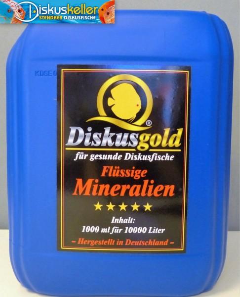 Diskusgold Flüssige Mineralien 5000 ml
