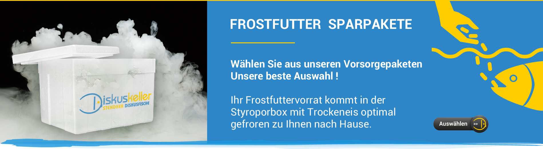 Slider-Frostfuttersparpakete