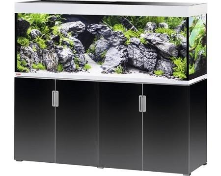 EHEIM Incpiria 500 - schwarz / silber - Süßwasser Aquarien-Kombination