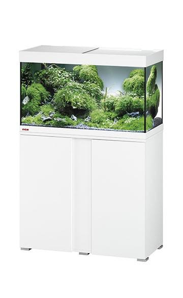 EHEIM vivalineLED 126 - weiß - Süßwasser Aquarien-Kombination