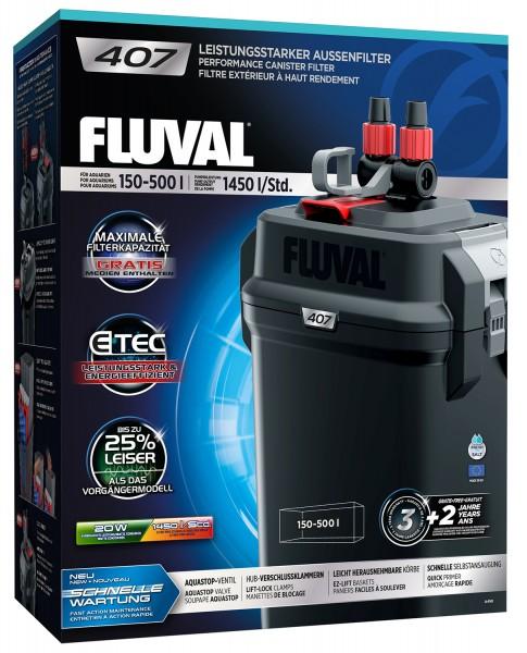 Fluval 407 Außenfilter für 150-500 Liter Aquarien