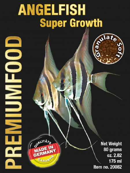 Angelfish Super Growth – 80g Softgranulat von Discusfood für Skalare