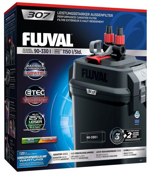 Fluval 307 Außenfilter für 90-330 Liter Aquarien