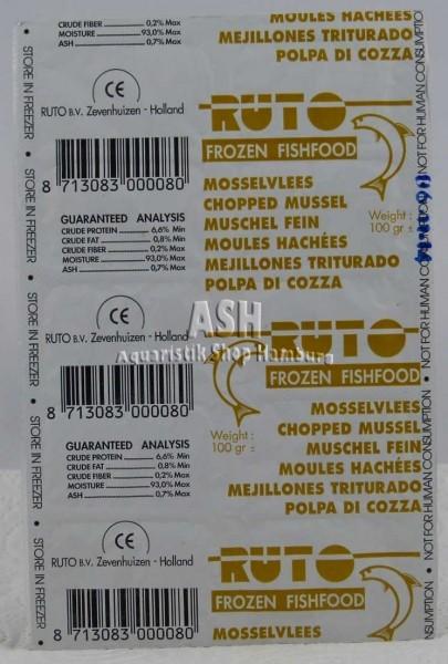 RUTO's Muschelfleisch (gehackt)100g Blister
