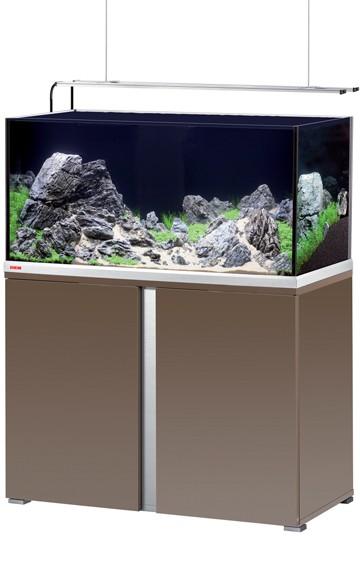 EHEIM Proxima plus 250 - mokka braun / edelglanz - Süßwasser Aquarien-Kombination