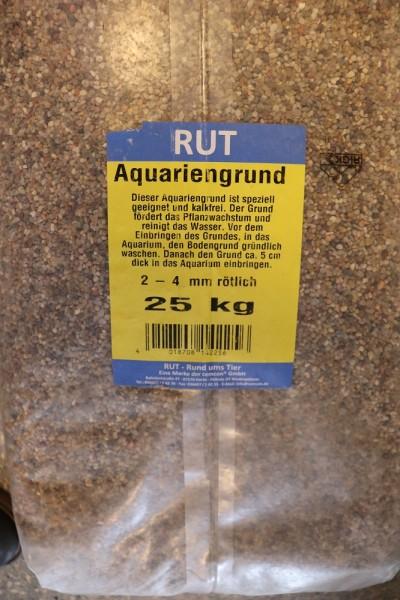 Aquarienkies 2-4 mm rötlich - 25kg