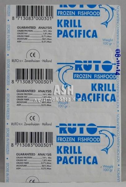 RUTO's Krill fein Pacifica 100g Blister
