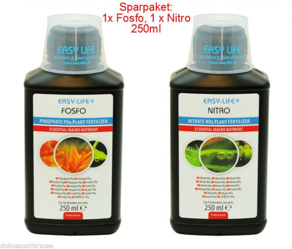 2er EASY LIFE FOSFO & NITRO NO3+PO4 á 250ml