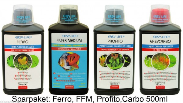 Easy Life Ferro, Pro Fito, FFM & Carbo - 4x500ml
