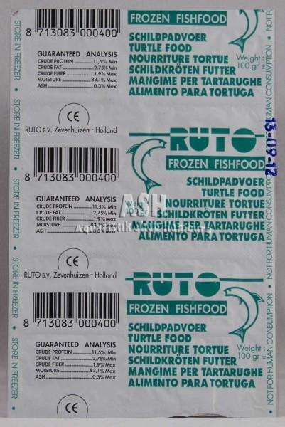 RUTO's Schildkrötenfutter Blister-Verpackung 100g