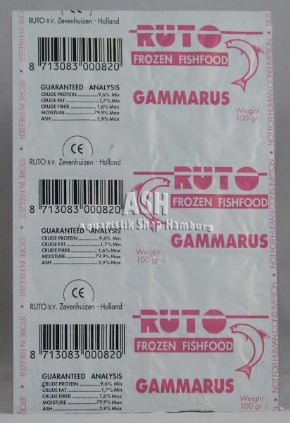 RUTO's Bachflohkrebse (Gammarus) 100g Blister
