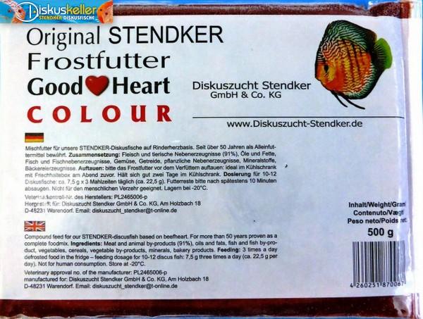 10 x Stendker GoodHeart COLOUR Diskusfutter: 500g Flachtafel Sparpaket